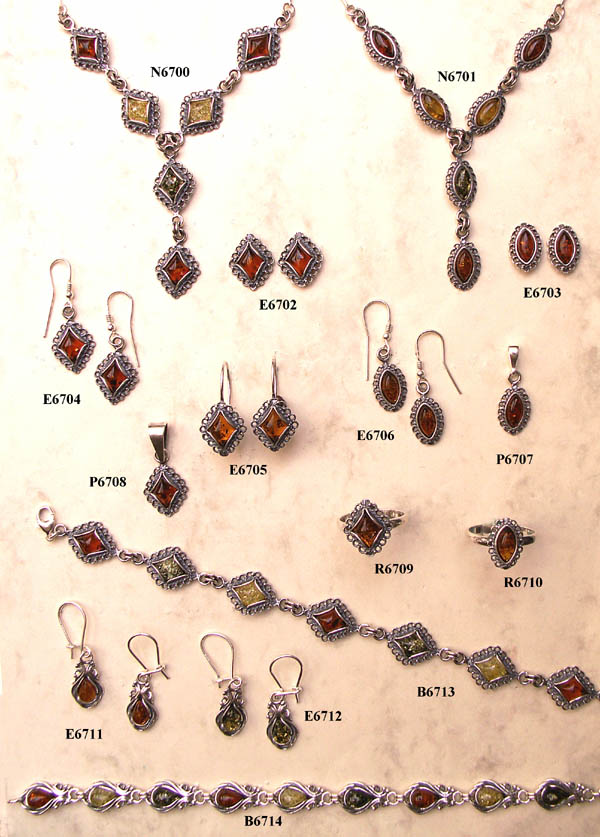 silver and amber jewellery wholesale Poland